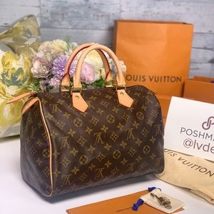 ✅Authentic✅ LOUIS VUITTON Speedy 30 Monogram